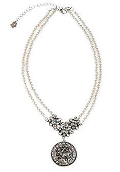 Krojový náhrdelník ze syntetických perel