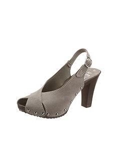 Pásikavé sandále