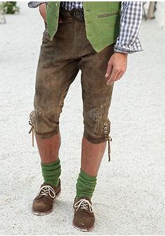 Country Line Krojové 3/4 kožené kalhoty ve stylu pumpek
