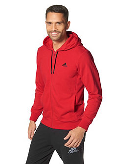 adidas Performance ESSENTIALS LINEAR FZ HOODIE FRENCH TERRY kapucnis szabadidőfelső