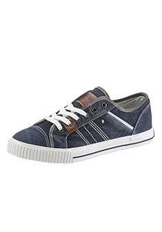 H.I.S fűzős cipő világos talppal