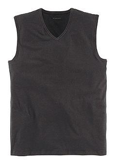 Mey V nyakú trikó, gyorsan száradó pamutból, hátul kicsit hosszabb
