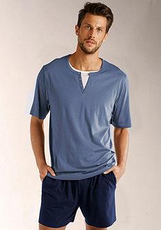 s.Oliver rövidnadrágos pizsama, pizsama rövid fazonú, felsőrésze gombokkal és elején nyomással