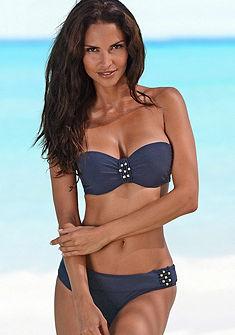 Merevítős bandeau bikini, LASCANA