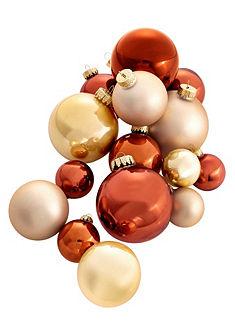 Thüringer Glasdesign gömb karácsonyfadísz (40 részes)