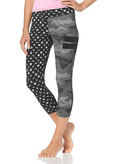 Reebok ONE SERIES NYLUX CAPRI 3/4-es sport leggings