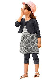 Bolero + šaty + legíny, pro dívky