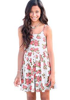 Arizona dzsörzéruha virág nyomással, lányoknak