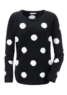 Aniston kerek nyakú pulóver