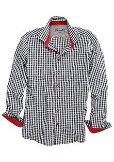 Pánská krojová košile s kontrastním prošitím, OS-Trachten