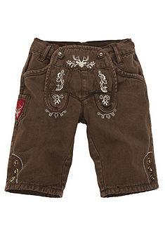 Krojové kalhoty s výšivkou, BONDI