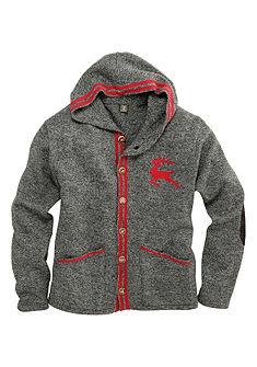 OS-Trachten Pánský pletený svetr s kapucí