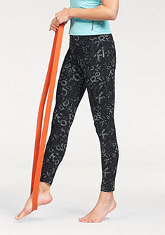 Reebok Legíny »ELEMENTS ALL OVER PRINT LEGGINGS«