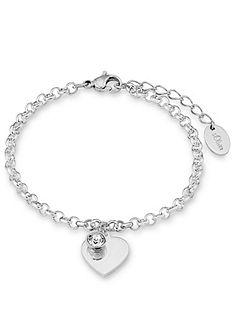 s.Oliver Šperk na ruku: náramok so Swarovski® krištáľmi, »srdce, SO1346 / 1«
