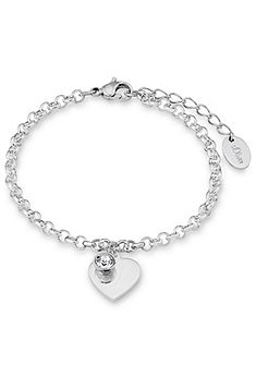 s.Oliver Šperk na ruku: náramek se Swarovski® krystaly, »srdce, SO1346/1«