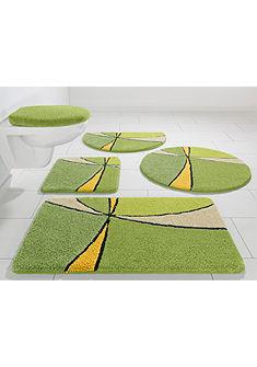 Fürdőszobaszönyeg, álló Wc szett, my home Selection, »Anthea«, magasság 15 mm, mikroszálas,csúszásgátló hátoldal