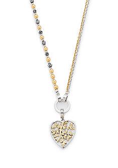 Jewels by Leonardo ékszerszett: nyaklánc üvegkövekkel (4 részes), »darlin's ornato, 015754«