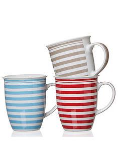 Flirt by R&B kávésbögre szett porcelánból, »Modern Stripes«