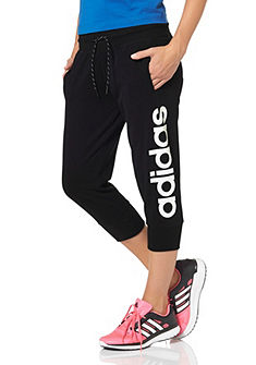 adidas Performance ESSENTIALS LINEAR 3/4 PANTS 3/4-es szabadidőnadrág