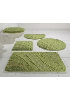 Kúpeľňová súprava, my home »Josie« mikrovlákno, výška 20 mm, protišmyková zadná strana