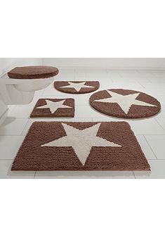 Ecorepublic Home fürdőszobaszőnyeg »Mary«, magasság 17mm, bio pamut, csúszásgátló hátoldallal