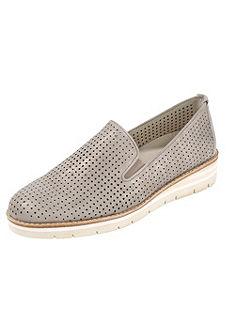 Gabor Comfort Nazúvacie topánky, celoplošné vzorovanie a ušľachtilý lesk