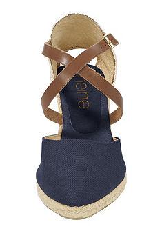 Éksarkú espadrilles cipő lenzsinór talppal
