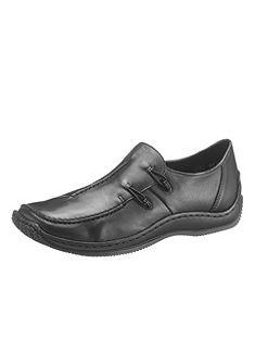 Rieker belebújós bőr cipő rugalmas betéttel