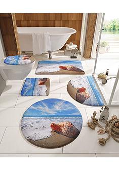 Kúpeľňová predložka, my home selection »Muschel«, výška 14 mm, pamäťová pena