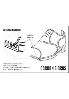 GORDON & BROS Šnurovacie topánky »Harvet«
