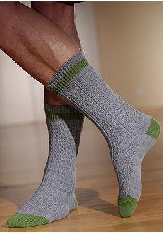 Krojové ponožky svrkočovým vzorom