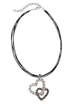 Krojový náhrdelník dámsky s príveskom v tvare srdca, Klimm