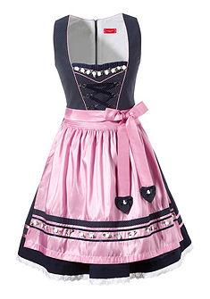 Krátké krojové šaty s aplikací růží, Krüger Madl