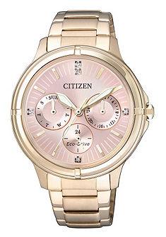 Citizen multifunkciós óra Swarovski-kristályokkal, »FD2033-52W«