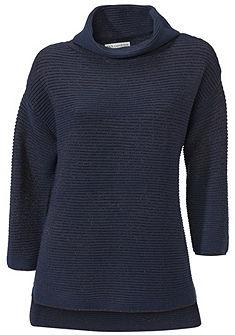 Garbós nyakú pulóver