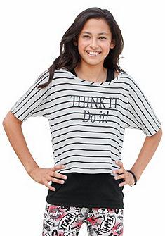Arizona póló&top az elején nyomással (szett, 2 részes), lányoknak