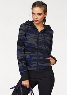 adidas Performance Mikina s kapucí »ESSENTIALS LINEAR HOODY AOP«