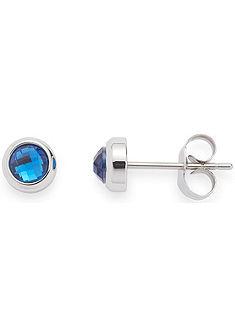 Jewels by Leonardo Pár náušníc se skleněnými kameny, »Puntin modrá, 015985«