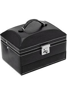 FRIEDRICH23 Kufrík na šperky »London« z kože