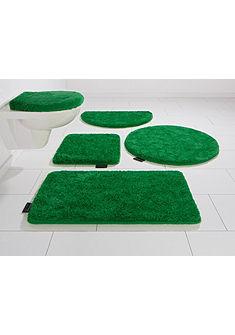 Fürdőszobaszőnyeg, 3 részes függesztett Wc szett, Bruno Banani, »Lana«, magasság 25mm, csúszásgátlós hátoldallal