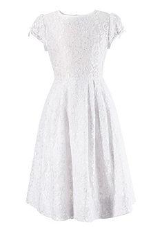 Dětské šaty s krajkou a saténovou mašlí, Turi Landhaus