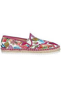 Espadrilles cipő nyomott mintás textilből