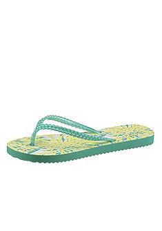 flip*flop fényes felületű lábujjközös papucs