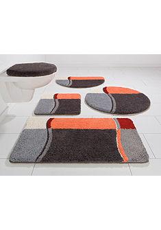 Fürdőszobaszőnyeg, szett fali WC-hez, my home, »Belio«, vastagság  15/20 mm, csúszásgátló hátoldallal