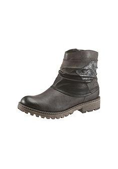 Rieker Zimní obuv, patchwork vzhledu