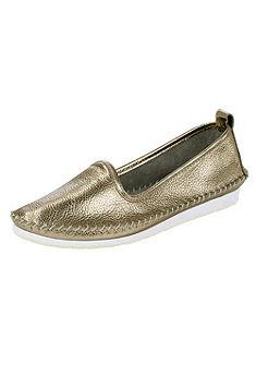 Andrea Conti Nazúvacie topánky s výrazným švíkom