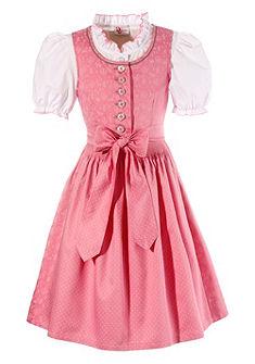 Gyerek dirndl ruha tradicionális mintával, Turi Landhaus (3 részes)