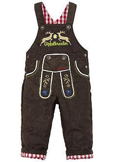 Detské krojové nohavice s nastaviteľnými trakmi, BONDI