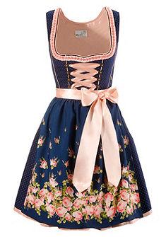 Dirndl rövid ruha finom színkombinációval, Marjo