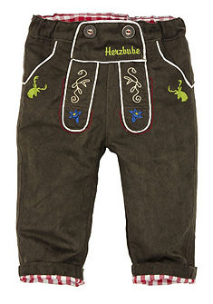 Dětské krojové kalhoty s nastavitelným pasem do gumičky, BONDI